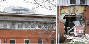 Rivningen av NT's gamla lokaler på Övre Bryggårdsgärdet är i full gång. Här ska byggas hundratals bostäder, ett äldreboende och en förskola.