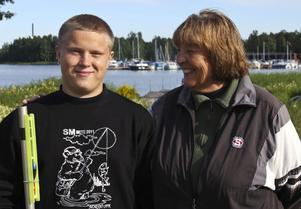 Veteran möter junior, både Alexander Rosén och Maj Stenberg plockade hem medaljer vid helgens SM i mete.