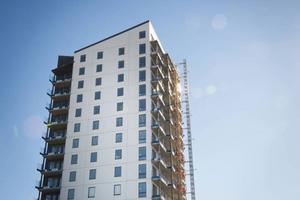 I Fagerskrapan finns 56 av de lägenheter som byggts i Östersunds kommun den senaste tiden.
