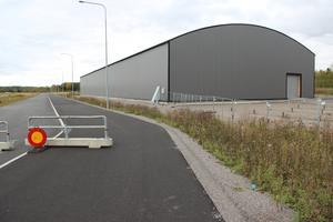 Motocrosshallen i Tierp kan snart förvandlas till något annat än vad den var ämnad för.