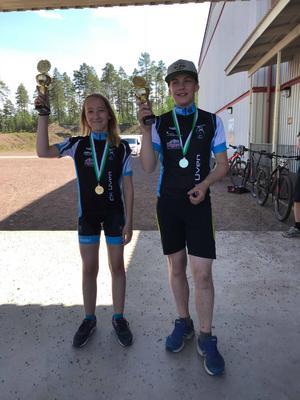I ungdomarnas tjejklass segrade Saga Lilja från CK Uven i Orsa. På killsidan vann Joel Jensen, CK Uven.