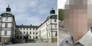 Svea hovrätt och den misstänkte 50-åringen som nu häktats. Arkivbild: Bertil Ericson/TT  och Daniel Gustafsson