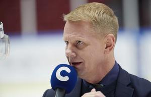 Niklas Wikegård var innan han blev kommentator och tv-expert tränare i bland annat Djurgården. Trots att han kommer från Gävle har han aldrig tränat Brynäs. Bild: Andreas Hillergren / TT