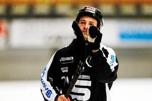 Christoffer Edlund var inblandad i sex mål mot Hammarby.