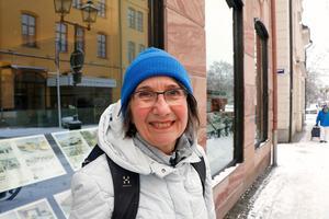 Karin Greve, 66 år, Örebro– Det är skolan, vården och omsorgen som är viktiga för mig. Det handlar om välfärdsfrågorna.