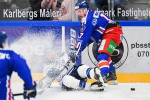 IK Oskarshamn var den hockeyallsvenska klubb som lånade in spelare allra flitigast förra säsongen. Bild: Suvad Mrkonjic/Bildbyrån