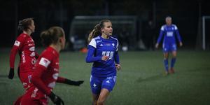 Lagkaptenen Lisa Bergman svarade för åtta mål under säsongen.