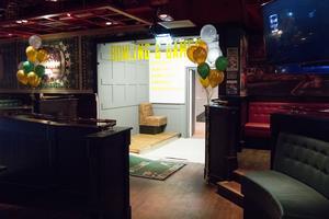 Ingången till Bowling & Games, från det sedan tidigare befintliga O'Learys. För att komma ned till Bowling Games går man ned för en lång trappa.