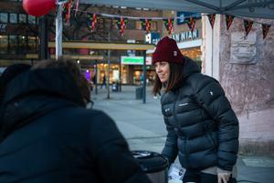 Emma Svedberg är eventansvarig på Gävle citysamverkan.