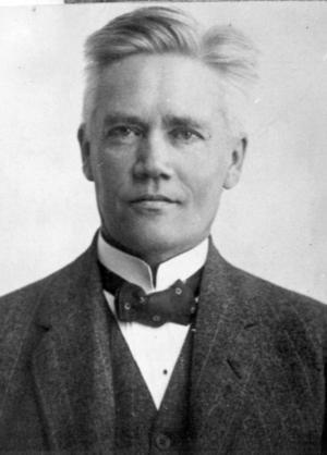 Den svenske rasbiologen Herman Lundborg, nazistsympatisör och inte socialdemokrat.Foto: Scanpix/TT