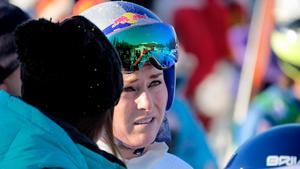 Alpina superstjärnan Lindsey Vonn är en av de som kan missa OS om USA sätter stopp för sina idrottare. Bild: TT.