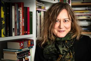 Annina Rabe är författare och kulturskribent med särskilt intresse för litteratur. Foto: Anders G Warne.