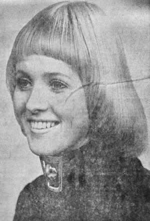 Britt-Marie Arnesson kammade hem priset för Sveriges snyggaste frisyr våren 1971.