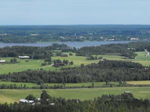 Utsikt från Rönnåsen utanför Ockelbo. Foto: Mari Haglund/arkiv