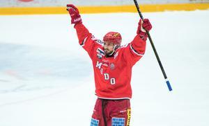 Nikolai Belov gjorde en alldeles utmärkt debut för Modo Hockey, och fick en passningspoäng redan i sitt tredje byte.