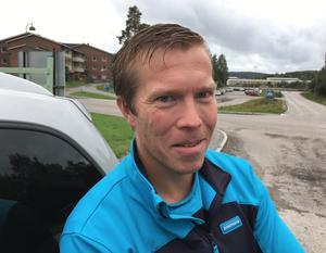 Stefan Krantz, 36 år, brevbärare, Matfors: