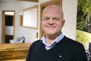 """""""Tanken var att flytta till Lerdal när jag blev pensionär men när det här jobbet dök upp tog jag chansen"""", säger Anders Eklund."""