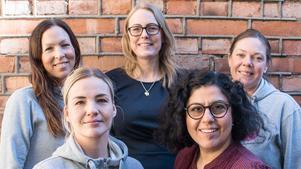 VLT:s frågespalt består av barnmorskan Lotta Hellqvist, kurator Hanna Ahlström, barnmorska Karin Edenskär, barnmorska Anna Bröms, kurator Maria Baglien, Ungdomsmottagningen i Västerås.