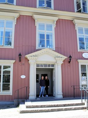 Här i Rosa Huset vid Stora Torget öppnar inredningsbutiken Bisnonno i juni.