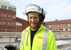 Patrik Halvarsson ger bilisterna klart godkänt. De visar tålmodighet, är hans betyg så här långt.