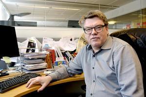 Regionpolitikern Roger Johansson (S) från Sundsvall poängterar att Socialdemokraterna i dagsläget inte planerar för någon skattehöjning: