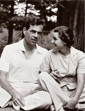 Litteraturforskaren Joseph Campbell med sin hustru, den berömda koreografen och dansaren Jean Erdman 1939. Foto: Joseph Campbell Foundation