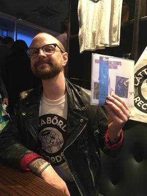 Daniel Svensson har grundat lokala skivbolaget Lätta bördor.