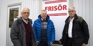 Sven Lindström, Freddy Klaffmo och Leif Jonsson.