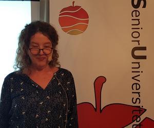 Anna-Karin Palm föreläste på Senioruniversitetet Hudiksvall