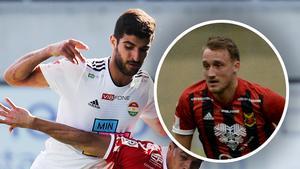 Rewan Amin kan hamna i ÖFK – medan Smajl Suljevic kan gå motsatt väg. Det uppger Fotbolldirekt. Foto: TT/Arkiv (Montage).
