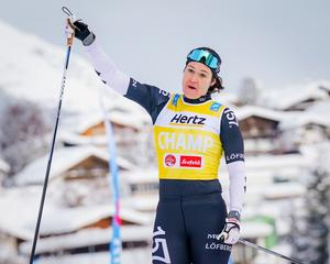 Britta Johansson Norgren vann i Seefeldt. Foto: Magnus Östh