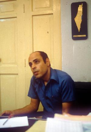 Terrorledaren Abu Nidal.