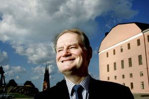 Nu får andra ta över. Landshövding för Uppsala län – men inte länge till. Sista september avslutar Anders Björck sitt uppdrag och flyttar till Stockholm. Foto: Daniel Nilsson/SvD/Scanpix