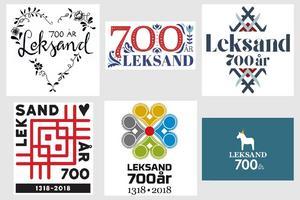 Sex finalister vaskades fram ur de 92 bidragen som skickades in. Bild: Leksands kommun