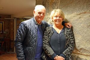 Lasse Andersson och Ullica Skytt Dempwolf är två av medlemmarna i Lions Hudiksvall.