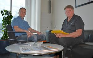 Christer Abrahamsson har tagit hjälp av försäkringskonsulten Sven-Göran Modin för att orka överklaga Försäkringskassans beslut.