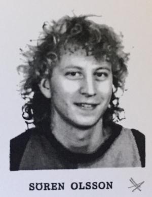 Sören Olsson, författare, klass EP 1, Karolinska skolan läsår 1985/86.