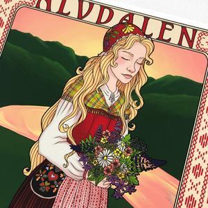 Inledningsvis har Hanna som småföretagare börjat arbeta med illustrationer under konceptet hon kallar för Heritage, engelska för arv, och namnet anspelar på Dalarnas kulturarv.