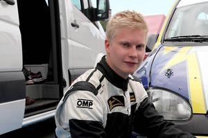 Daniel Röjsel var snabbast av alla som körde tvåhjulsdrivna bilar i LBC-ruschen i Lima - och dessutom den snabbaste junioren. Foto: Jens Näsman