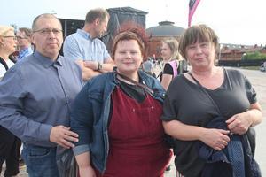 Familjen Östberg från Hudiksvall, Mats, Malin och Helena gillar att gå på konserter för den härliga liveupplevelsen. Mats beskriver sig som familjens musiknörd och alla tre gillar Toto.