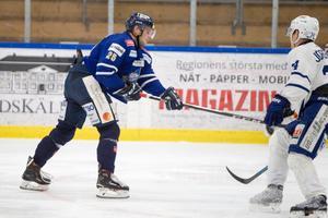 Roman Semjonov spelade fram till Mikael Hedlunds 2–1-mål.