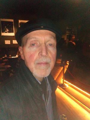 Bluessångaren Allen Finney blev den förste att få Sven Zetterbergs bluesstiftelses minnespris. Foto: Magnus Calais