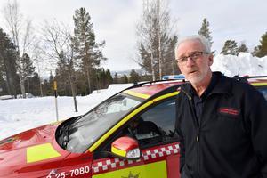 Jan-Olov Olsson, räddningschef i Älvdalen.