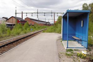 Norra stationsområdet i Fagersta.Foto: Helena Svensson