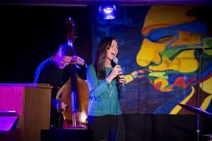 Rigmor Gustafsson bjöd även på material från sitt senaste album