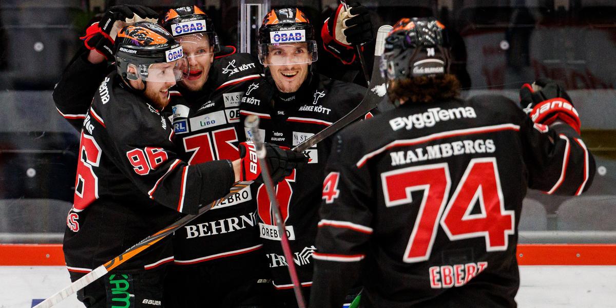 Örebro Hockey klart för SM-semifinal – historisk kväll i Behrn arena