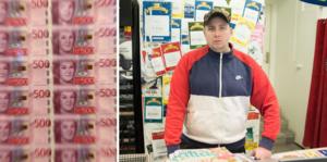 Ägaren till Direkten-butiken i Bjästa, Andreas Hernandez, utlovar nu 50 000 kronor till den som kommer med tips så att den som rånade hans butik i onsdags kväll kan gripas och lagföras.