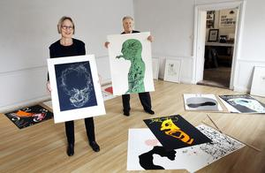 Åse Marstrander och Dan Jonsson har bott ihop i över 20 år. Fram till den 16 mars kan du besöka deras utställning här i Södertälje.