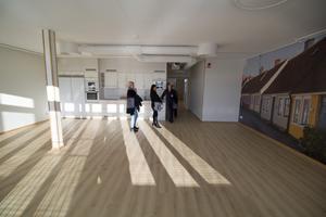 Attendo kallar Bergsmansgatan för ett livstilsboende med kultur- och nöjesprofil. Det här rummet, som är ungefär 50 kvadratmeter stort och ligger längst upp på tredje våningen, har man tänkt använda till bland annat dans.