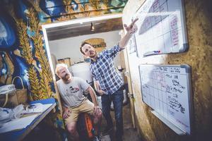 Peter Lincoln och Daniel Norlindh                                                                                                Arkivfoto